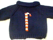 Customized Christmas Candy Cane Sweater Handmade for 18 inch Build A Bear