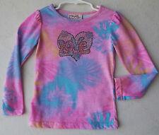 "Fleurish Girl Embellished ""Love"" Pink Long Sleeve T-Shirt size 2T NWT G82218"