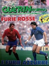 GUERIN SPORTIVO=N°24 1988=SPECIALE EUROPEI=POSTER UDINESE 87/88