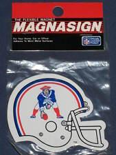 New England Patriots NFL Throwback Helmet Magnet Vintage Tom Brady NOS new RARE