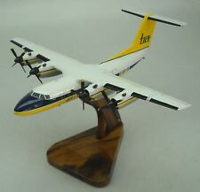 DHC-7 Brymon Airways Dash 7 DHC7 Airplane Desktop Wood Model Big New
