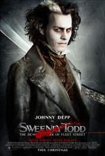 Poster SWEENEY TODD Cinema - Tim Burton Limited Edition