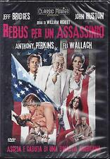 Dvd video **REBUS PER UN ASSASSINO** con Jeff Bridges nuovo sigillato 1979
