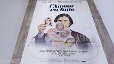 francois truffaut L'AMOUR EN FUITE ! affiche cinema 1978
