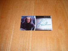 Star Trek Insurrection 1998 Autograph card A18 Tarlac Officer