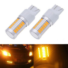 1 Pair T20 7440 7443 5630 33SMD LED Car Rear Lamp Backup Lights Bulb Yellow New