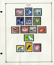 Nauru All-Mint 1960's to 1999 Stamp Collection f/k/a Pleasant Island