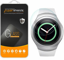 2X Supershieldz Tempered Glass Screen Protector For Samsung Gear S2 (4G Only)