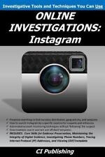 ONLINE INVESTIGATIONS: Instagram  (ExLib) by C. I. CI Publishing