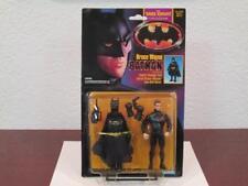 "1990 BATMAN DARK KNIGHT BRUCE WAYNE QUICK CHANGE SUIT FIGURE ""KEATON"" FACE MOC"