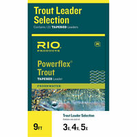 RIO Powerflex Trout Selection Leaders - 3 Pack