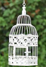DECORAZIONE Gabbia per uccelli 39cm altezza bianco FERRO ANTICO stile coloniale