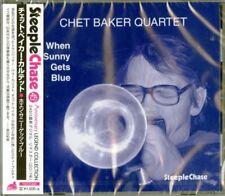CHET BAKER QUARTET-WHEN SUNNY GETS BLUE-JAPAN CD Ltd/Ed C94