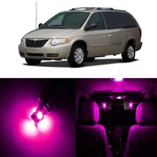 16 x Pink LED Interior Light Package For 2001 - 2007 Chrysler Town Country TOOL