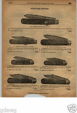 1913 PAPER AD Geaorge Wostenholm and Son Press Button Safety Pocket Knife Knives