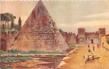 BR32608 Roma La Piramide de Cestio italy