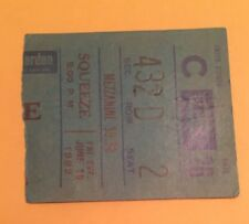Squeeze~ Vintage Concert Ticket Stub~1982 Nyc Msg
