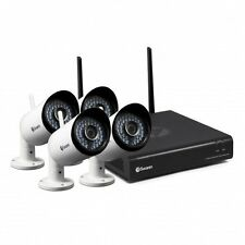 Swann NVW-485 Wi-Fi HD Security System - 1080P Wireless Recoder and 4 x Cameras