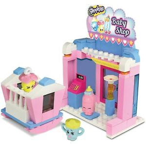 "Shopkins Kinstruction Baby Shop Playset 128 Pieces Toy ""NEW"" FREE SHIPPING"