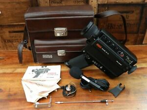Eumig Sound 30 XL Super 8 Cine Camera with Accessories and Bag