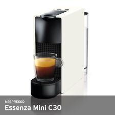 Nespresso Essenza Mini C30 19 Bar 0.6-Liter 220V w/14 Capsules Free UPS / White