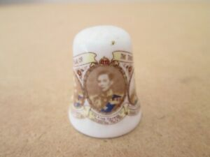 Fenton Bone China Thimble - The Three Kings