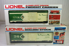 LIONEL 9428 TP&W ONE OF A KIND PROTOTYPE BOX CAR FROM THE LIONEL ARCHIVES UNRUN