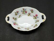 Royal Albert Winsome Oval Handled Trinket Candy Sweet Meat Dish Bowl Porcelain