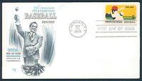 1381 MARG Scarce 1969 Cachet Professional Baseball Nixon Unaddressed LOT 726