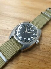 Fully Serviced - CWC W10  British Military Issued Vintage Mechanical Watch 1977