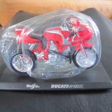 Ducati MH900E MH 900E Maisto Motorbike Motorcycle Model 1:18 Scale w Stand