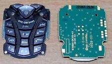 Neu: Original Siemens M55 Tastatur Keypad incl. Tastaturenplatine Palladium
