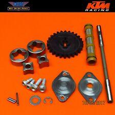 2006 KTM 450 SX RFS Oil Pump Assembly Gear Pumper Circulation Shaft 400 450 525