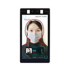 Facial Recognition Temperature Scanner Access Control Attendance Software