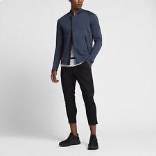Nike Sportswear NSW Tech Fleece Jacket Bomber Size Medium M Blue 832114 464