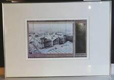 Christo Wrapped Reichstag verhüllt XXL Lichtdruck Prägefolie Verpackungstextur