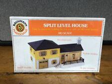 Bachmann Plasticville Split Level House Nib Factory Sealed Ho Scale
