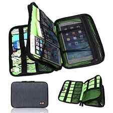 NEW Universal Cable Organizer Electronics Accessories Case USB Phone Travel Bag