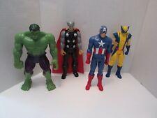 "2013 Hasbro Marvel Thor_Hulk_Captain America_Wolverine 12"" Action Figure"