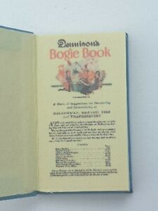 1:12 Scale Book,Dennison's Bogie Book for Halloween 1925 Crafted by ken Blythe