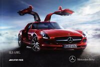 Mercedes SLS AMG Prospekt 2011 4/11 brochure Autoprospekt broschyr prospectus