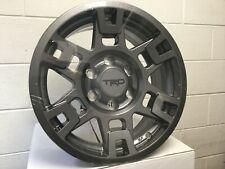 """Genuine Toyota 17"""" TRD PRO 4Runner Tacoma FJ Cruiser Gloss Gunmetal Gray Wheels"""