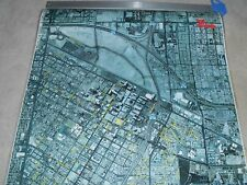 VEGAS AERIAL PHOTO WALL MAP 36X48 NEVADA VINTAGE EARLY OLD HISTORY MUSEUM VIEW