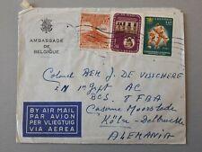 enveloppe timbrée colombie : 1961