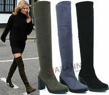 Unbranded Suede Knee High Boots for Women