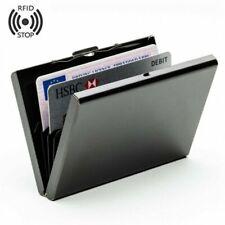 RFID Steel Smart Credit Card Case Wallet Technology Protect Business Card Holder