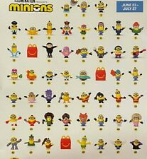 McDonald's 2020 Happy Meal Toys Minions + GOLD Rise of Gru PICK  & CHOOSE