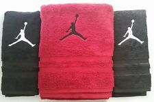 3 PC CUSTOM - MICHAEL JORDAN SLAM DUNK BASKETBALL NBA BATH & HAND TOWEL SET