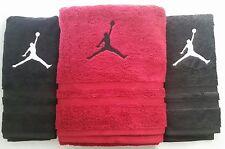 3 PC CUSTOM - MICHAEL JORDAN SLAM DUNK BASKETBALL NBA BATH & HAND TOWEL SET