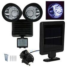 New listing 22 Led Solar Powered Motion Sensor Pir Security Light Garden Garage Outdoor